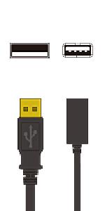 A-A延長(USB2.0)
