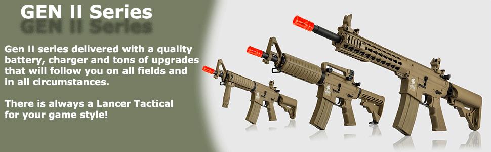 gen 2 series airsoft guns