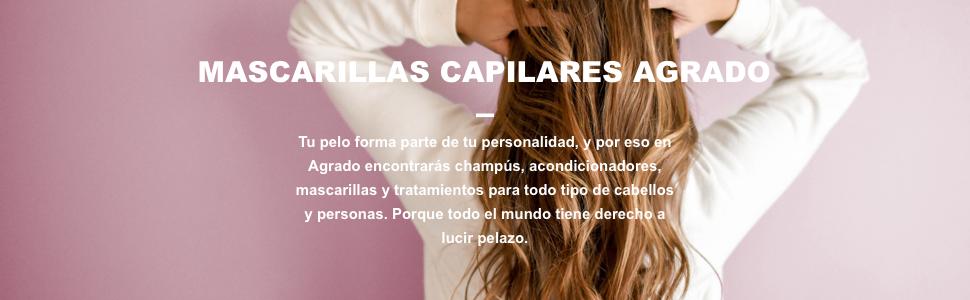 AGRADO MASCARILLA REPARADORA 500ML: Amazon.es: Salud y ...