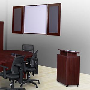 Amazoncom Regency Legacy Inch Racetrack Conference Table With - Whiteboard conference table