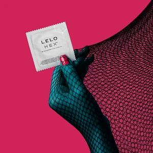 HEX de LELO: Los condones de látex reinventados