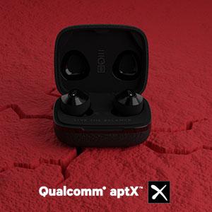 qualcomm aptx, wireless earbuds