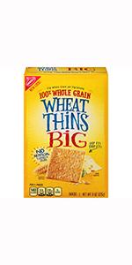 Wheat Thins Big Crackers