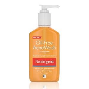 Oil free acne cleanser wash