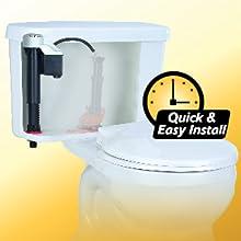 Korky 528 Korky Quiet Fill Toilet Fill Valve Toilet Flush