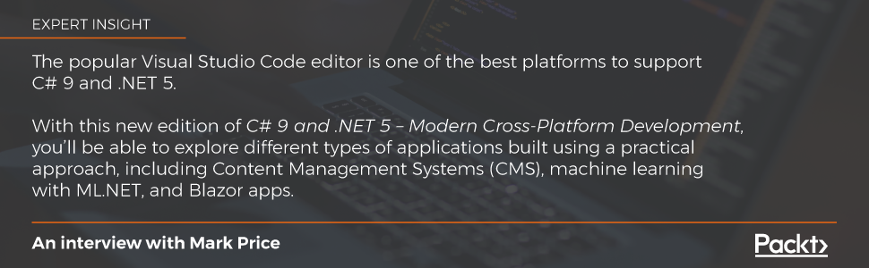 C# and .net 5 mark