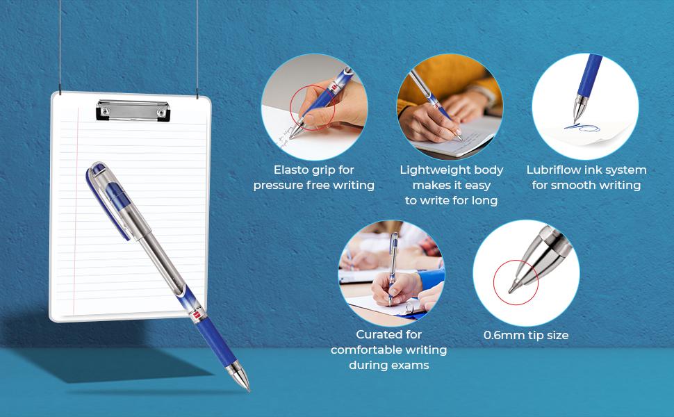 Cello Pinpoint Ball Pen | exam pens | Lightweight pens | Blue pens