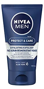 nivea men face scrub exfoliating deep skin care aloe vera