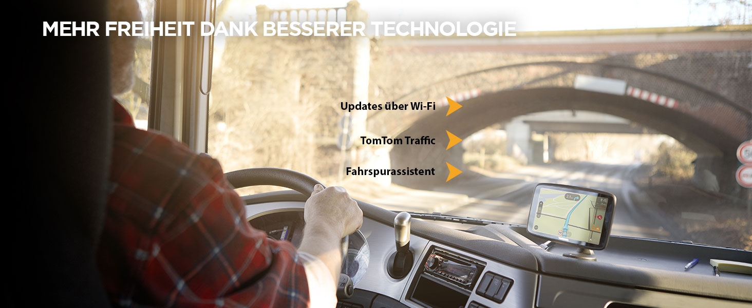Tomtom Lkw Navigationsgerät Go Professional 620 Elektronik