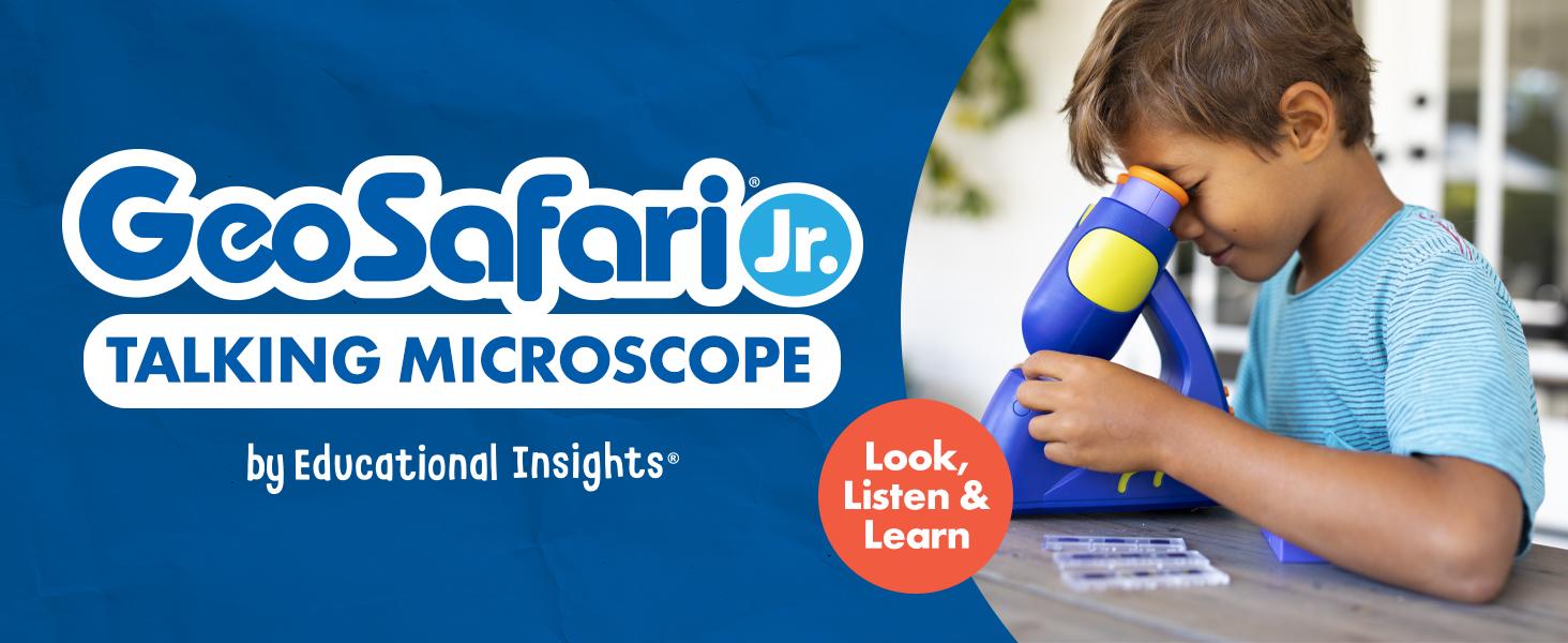 GeoSafari Jr. Talking Microscope