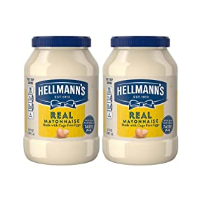 Hellmann's Real Mayonnaise, 48 oz, twin pack