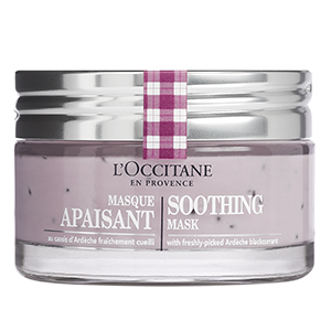 soothing mask loccitane