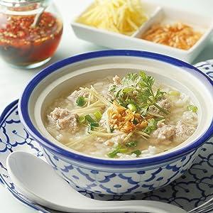 豚肉団子の雑炊 ジャスミンライス タイ米 米 ヤマモリ タイフード タイカレー グリーンカレー レトルトごはん