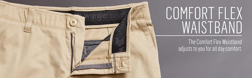 jeans wrangler stretch waistband mens comforter cut colours fit comfort sizes ex iconic flex relaxed label