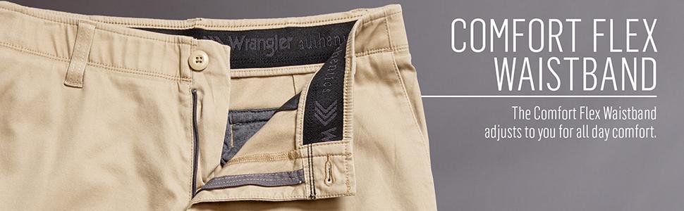 at mens s waistband clothing comfort waist classic men store amazon comforter flex dp jean wrangler authentics