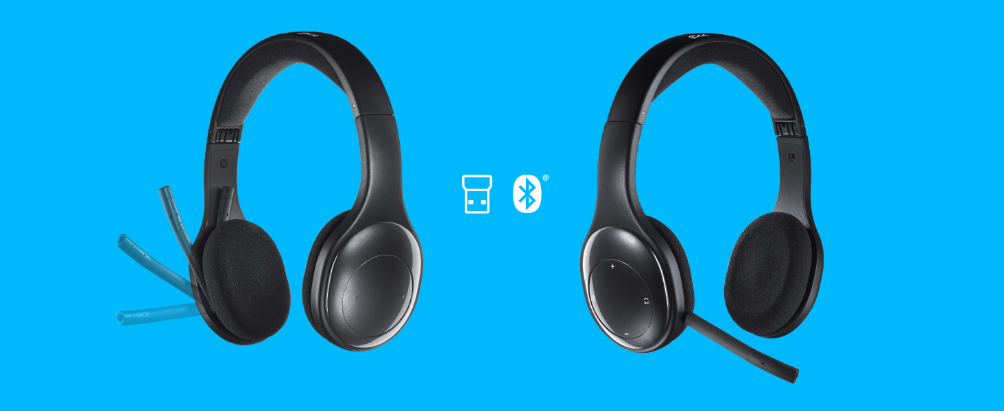 new products 9ee25 d4b9c Logitech H800 Bluetooth Wireless Headset with Mic for PC, Tablets and  Smartphones