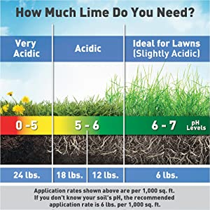 lime rates for grass