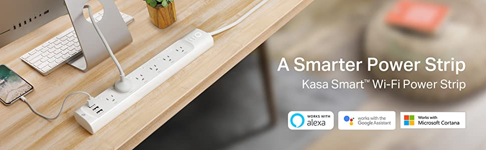 Kasa Smart Wi-Fi Power Strip