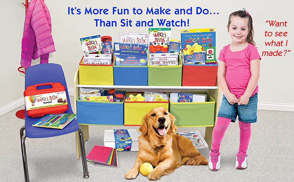 wikki stix, educational toys, learning toys, kid crafts, crafts for kids