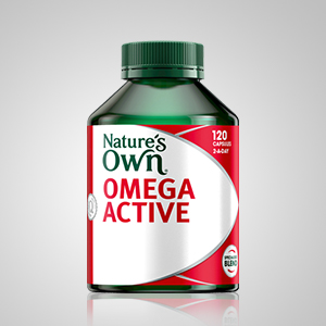 Nature's Own Omega Active; Nature's Own joint pain remedy; Nature's Own Omega-3 capsules