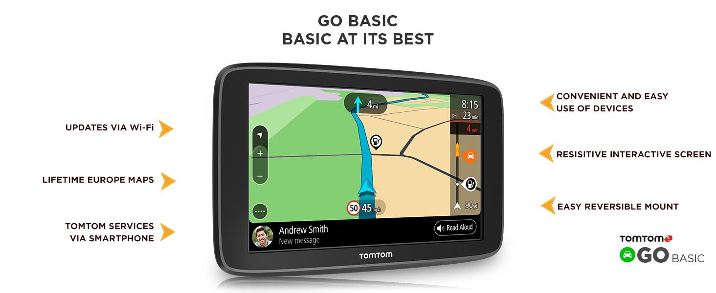 TomTom GO 60 S Portable Vehicle GPS