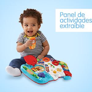 VTech - Correpasillos Andandín 2 en 1, Diseño Mejorado, Andador Bebé InTeractivo Plegable y Regulador de Velocidad, Multicolor (80-505622)