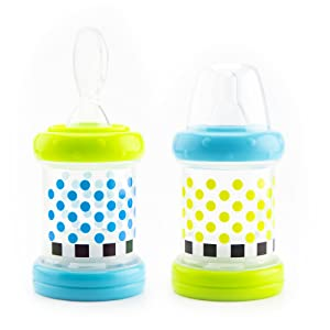 Amazon Com Sassy Baby Food Nurser 4 Months Set Of 2