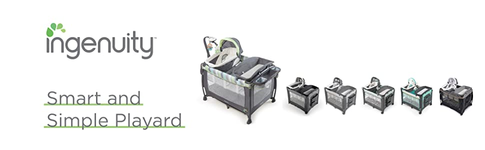 Ingenuity Dream Comfort Smart and Simple Playard, Connolly ...
