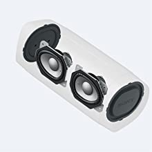 Side passive radiators
