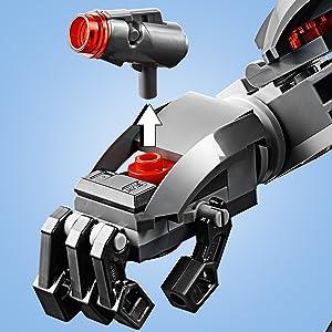 76124;LEGO Marvel Avengers;War;Machine;Buster;