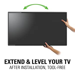 Amazon Com Sanus Premium Full Motion Tv Wall Mount