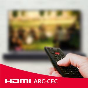 Sharp Ht Sb140 2 0 Soundbar Mit Hdmi Arc Cec Und 150w Gesamtleistung Bluetooth 95 Cm Schwarz Heimkino Tv Video
