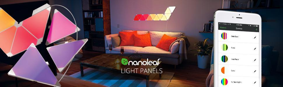 Nanoleaf Light Panels Expansion Pack 3x Panels Amazon
