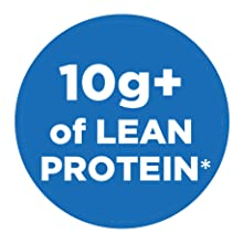 10g+ of lean protein