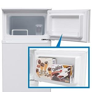 アイリスオーヤマ 冷蔵庫 90L 2ドア 右開き 温度調節6段階 省エネ IRR-A09TW-W