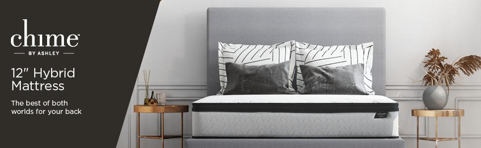 Chime 12 inch hybrid mattress