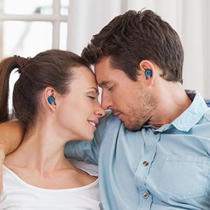 Amazon.com: Auriculares inalámbricos ANBES con Bluetooth ...