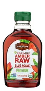 Amber Raw Agave Nectar