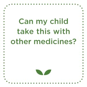 Can my child take this with other medicines?