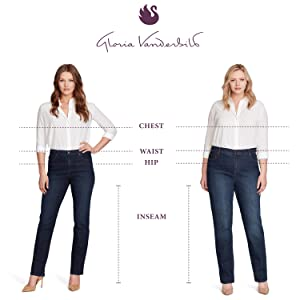 Gloria Vanderbilt original designer jeans for women