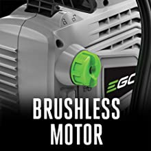 EGO, brushless motor