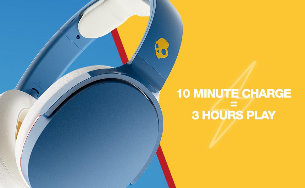Hesh Evo - 10 minute charge = 3 hours of play