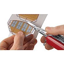 Small handheld steel scissors