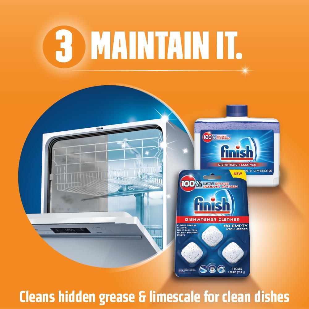 jet dry dishwasher cleaner instructions