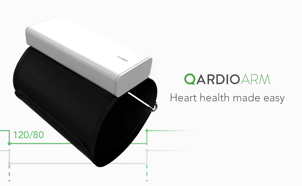 qardioarm, smart blood pressure monitor, iphone BP monitor, blood pressure