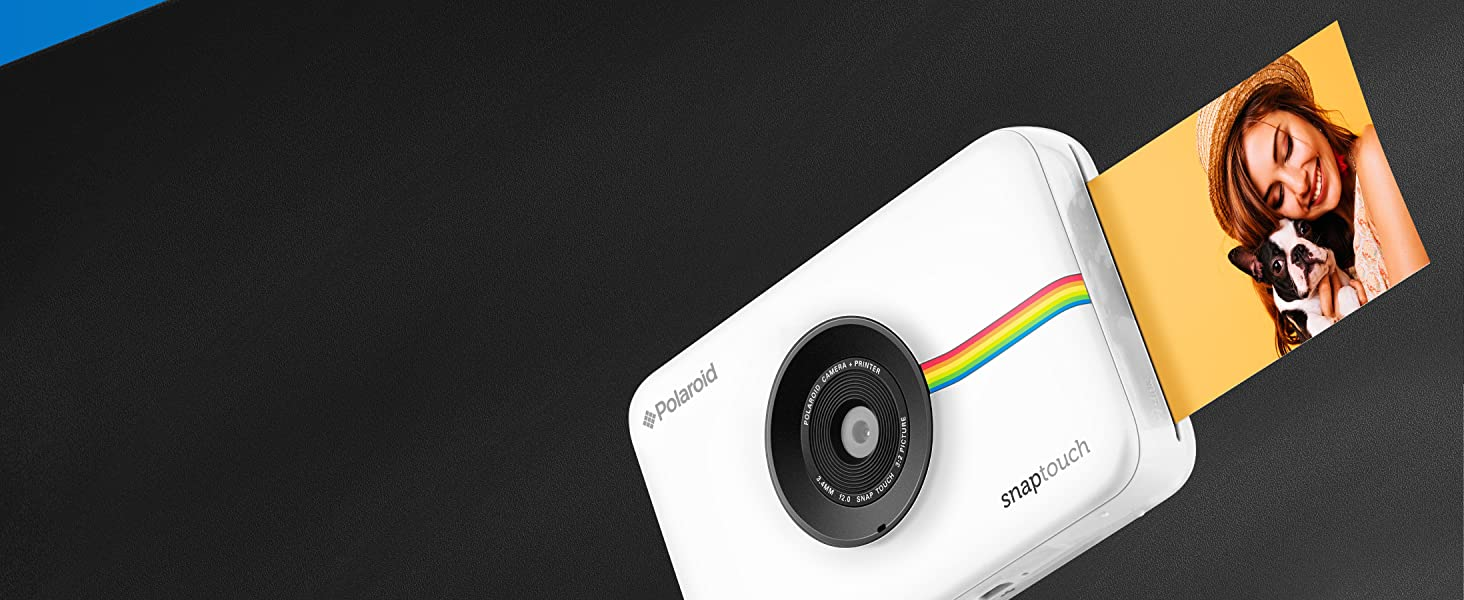 Polaroid snap touch instant printing detailed photos
