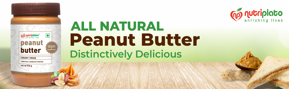ALL Natural Peanut Butter Creamy 510g SPN-FOR1