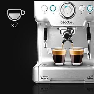 Cecotec Cafetera Express Power Espresso 20 Barista Pro ...