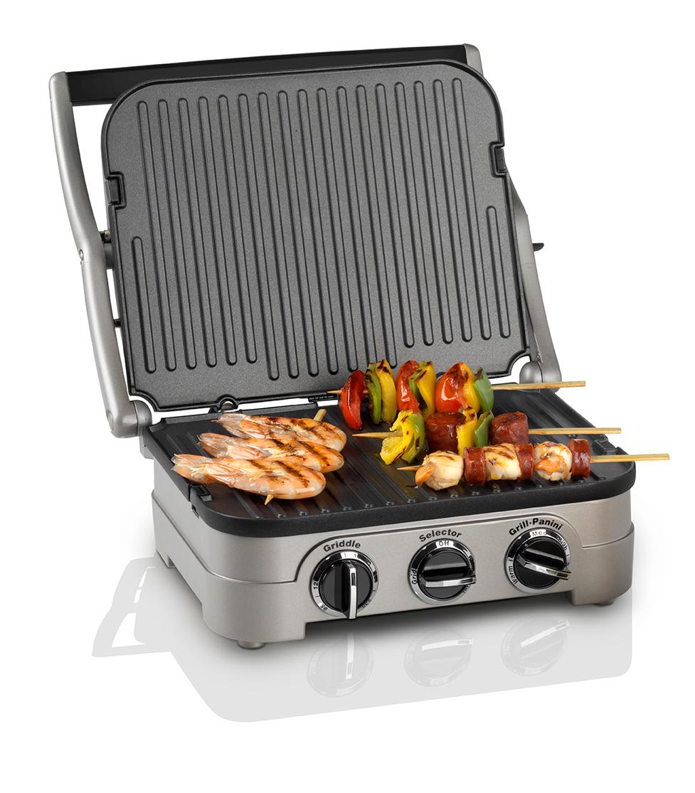 cuisinart griddle and grill 1600 w silver kitchen home. Black Bedroom Furniture Sets. Home Design Ideas