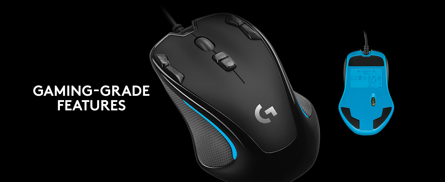 how to change color on logitech g300s